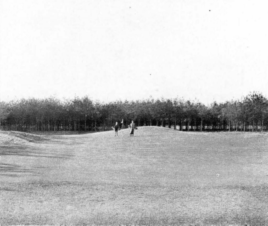 Toxandria in 1937, golfbaan