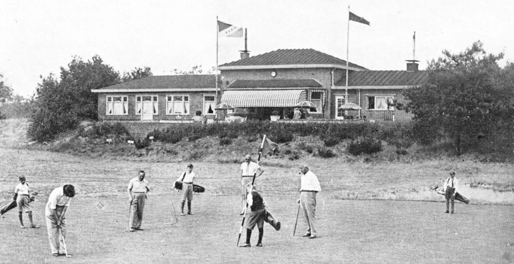 Toxandria in 1937 golfbaan