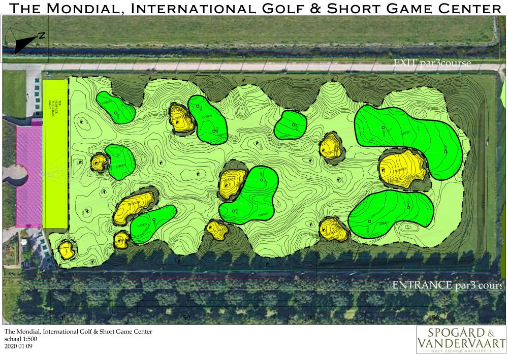 The Mondial Short Game Center